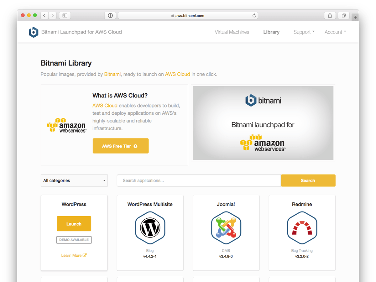 Bitnami Open Source Applications For Amazon Web Services How To Create Diagrams Architecture App Selection