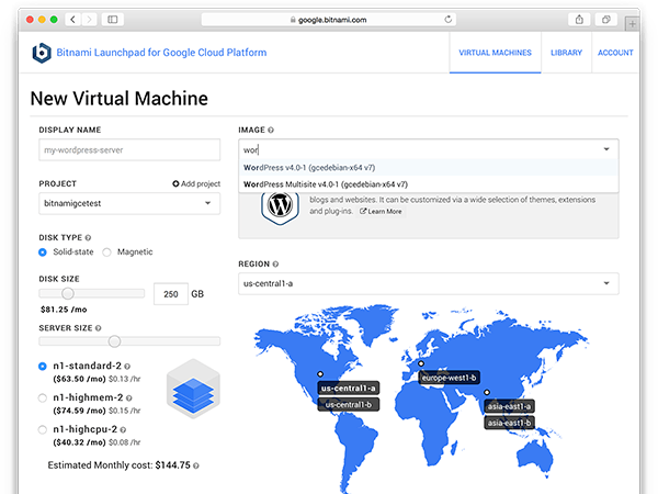 Bitnami-powered Cloud Applications for Google Cloud Platform