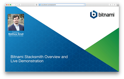 Bitnami Stacksmith - Package and maintain your apps in the cloud