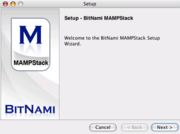 Mampstack screenshot