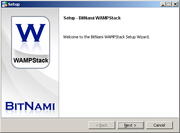Wampstack screenshot