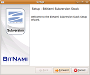 Subversion screenshot linux