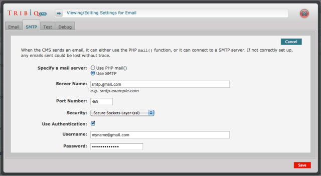 Tribiq_cms_settings