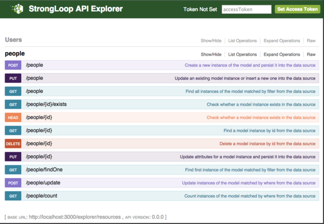 Loopback screenshot